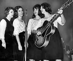 L-R - Maybelle Addington Carter - June Carter - Anita Carter and Helen Carter