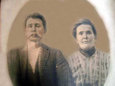 John J Hoppy Amburgey and Nancy Jane Smith