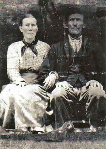 Wiley J Amburgey and Dianah Adams