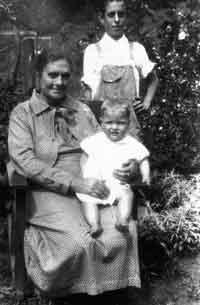 Lucretia Tackett Burke - Son - Noah Burke and Grandson - Truman Burke - Son of Delmar Burke