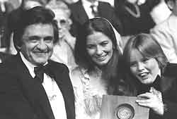 Johnny Cash - June Carter and John Carter Cash