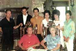 Ray Cash and Carrie Rivers Family
