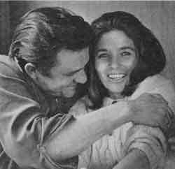 Johnny Cash and June Carter