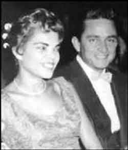 Vivian Dorraine Liberto and Johnny Cash