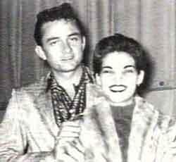 Young Johnny Cash And Vivian Vivian Cash Ethnic Bac...