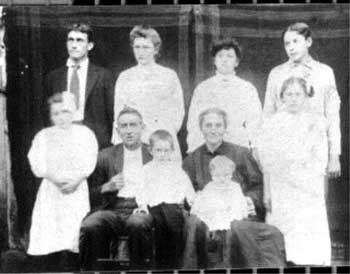 William Penn Cody and Elizabeth Combs Family