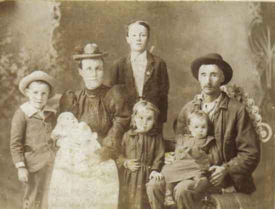 Thomas Allen Pinkney Dellinger Family