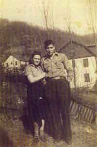 Bessie Fuller and Roy Shotton - Son of Bob Shotton in a Previous Marriage